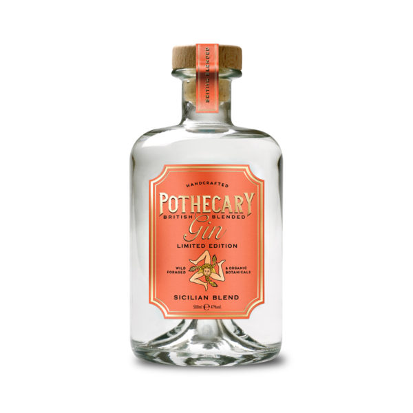 Pothecary Gin Sicilian Blend (50cl, 47%)